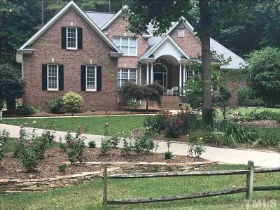 Wake Forest Single Family Home For Sale: 8129 Hawkshead Road