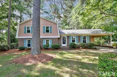 Apex Single Family Home For Sale: 1106 Knollwood Drive