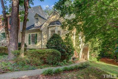 Cary Townhouse For Sale: 107 Adventure Trail