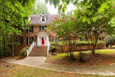 Raleigh Single Family Home For Sale: 8824 Stage Ford Road