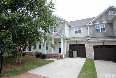 Garner Townhouse For Sale: 145 Mariah Towns Way