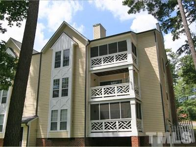 Chapel Hill Condo For Sale: 1010 Kingswood Drive #G