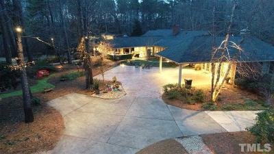 Angier Single Family Home For Sale: 1140 Mabry Road