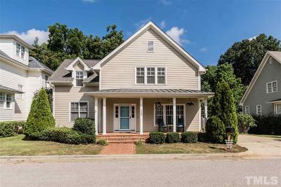 Raleigh Single Family Home For Sale: 113 Village Mill Place