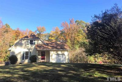 Hillsborough Single Family Home For Sale: 1203 Lindale Road