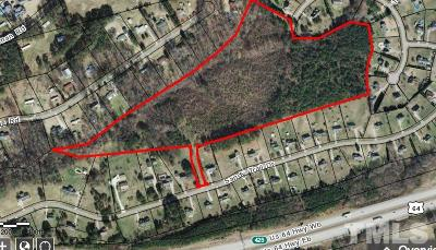 Wake County Residential Lots & Land Contingent: Sandy Trail Drive
