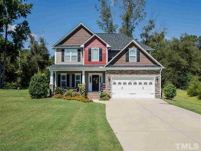 Angier Single Family Home For Sale: 54 Prosperity Court