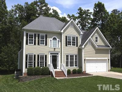 Durham Single Family Home Contingent: 1618 Crystal Creek Drive