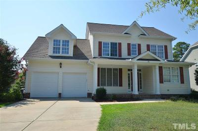 Holly Glen Single Family Home Contingent: 201 Avent Meadows Lane