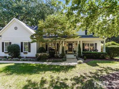 Raleigh Single Family Home Contingent: 8848 Wildwood Links
