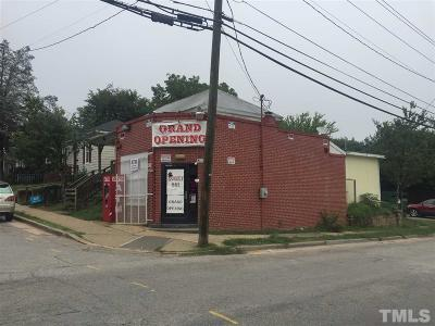 Raleigh Commercial For Sale: 527 Haywood Street