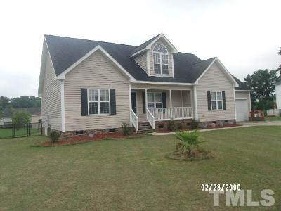 Benson NC Single Family Home Pending: $154,000