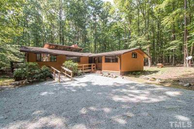 Durham Single Family Home Contingent: 5945 Cole Mill Road