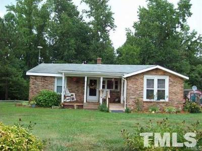 Siler City Single Family Home For Sale: 181 Addie Alston Road