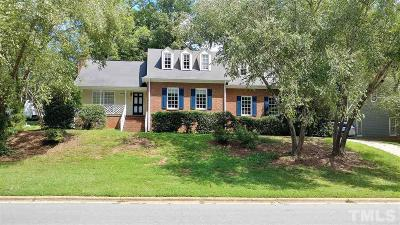 Raleigh Single Family Home For Sale: 8208 Old Deer Trail