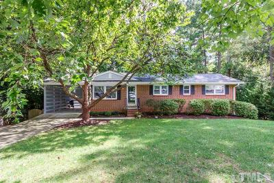 Raleigh Single Family Home For Sale: 1308 Ivy Lane