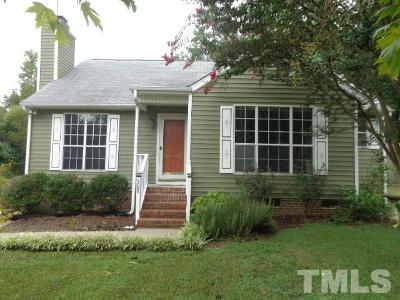 Holly Springs Single Family Home Pending: 308 Holly Pines Court