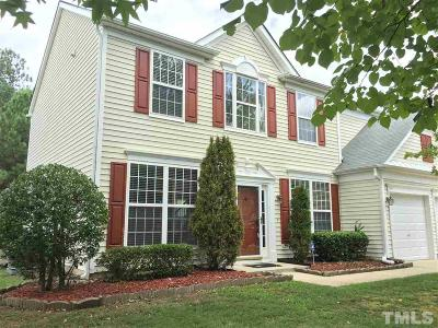 Cary Single Family Home Contingent: 204 Sherwood Forest Place