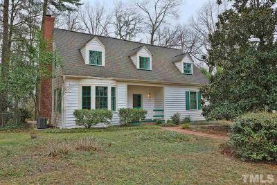 Durham Single Family Home For Sale: 1032 Sycamore Street