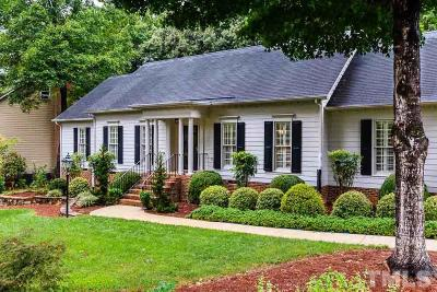 Raleigh Single Family Home For Sale: 1800 Snow Wind Drive