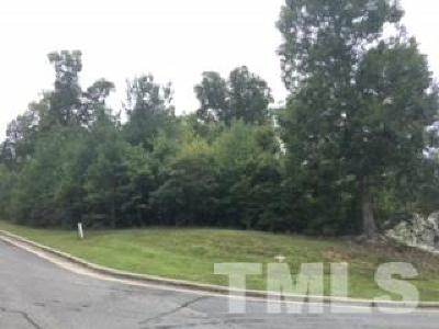 Pittsboro Residential Lots & Land Contingent: 17 Sweet Meadows Lane