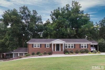 Wake Forest Single Family Home Contingent: 842 Wait Avenue