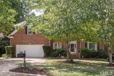 Cary Single Family Home Contingent: 105 Gatestone Court