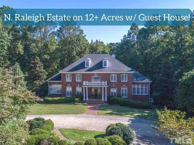 Raleigh Single Family Home For Sale: 7233 Kemp Road