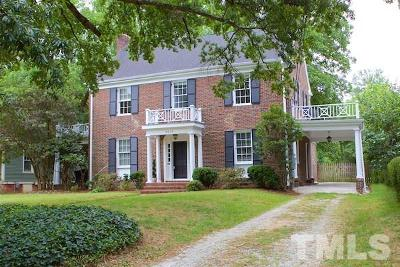 Durham County Single Family Home Contingent: 2419 W Club Boulevard