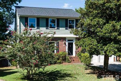 Cary Single Family Home For Sale: 106 S Drawbridge Lane