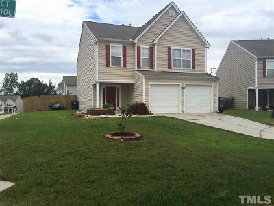 Raleigh NC Single Family Home For Sale: $197,000