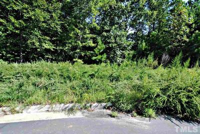 Cary Residential Lots & Land Contingent: 540 Bosworth Place