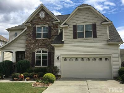 Morrisville Single Family Home Contingent: 505 Liberty Rose Drive