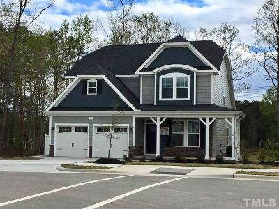 Knightdale Single Family Home For Sale: 706 Sunland Drive #Lot 64