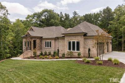 Chapel Hill Single Family Home For Sale: 48 Swaying Trees Court