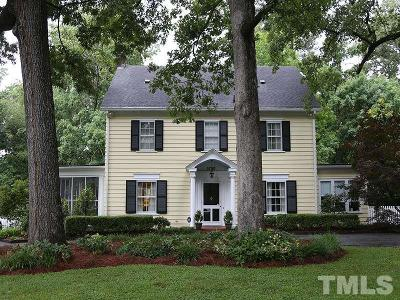 Durham County Single Family Home For Sale: 3730 Hope Valley Road