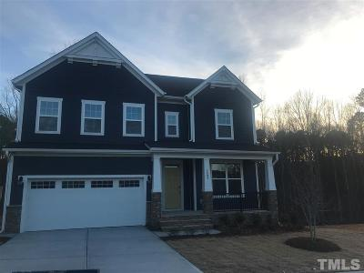Apex Single Family Home Pending: 1897 Woodall Crest Drive