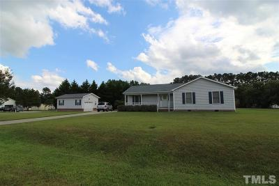 Angier Single Family Home Pending: 165 Twin Oaks Drive