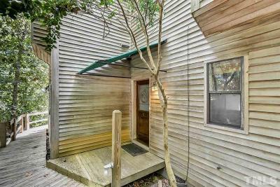 Chapel Hill Townhouse For Sale: 130 E Longview Street #C