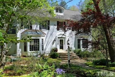 Raleigh Single Family Home For Sale: 10405 Leslie Drive
