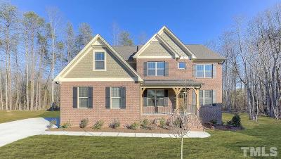 Cary Single Family Home For Sale: 604 Belle Gate Place