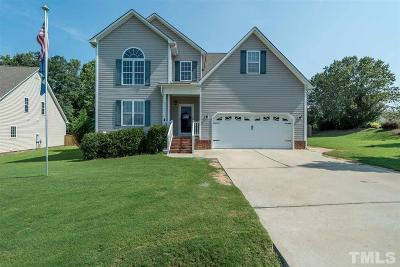 Holly Springs Single Family Home Pending: 6604 Country Hollows Lane