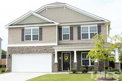 Wendell Single Family Home Contingent: 1113 Raven Perch Drive