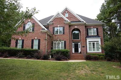 Zebulon Single Family Home For Sale: 1405 Wakefield Farm Road