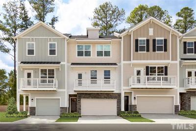 Apex Townhouse Pending: 2229 Chattering Lory Lane #Lot 136