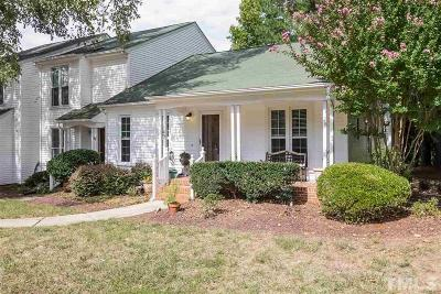 Cary Townhouse Pending: 109 Pickett Lane