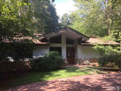Durham County Single Family Home For Sale: 3805 W Cornwallis Road
