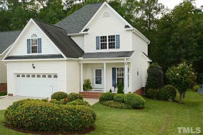 Wendell Single Family Home Contingent: 81 Wood Green Drive