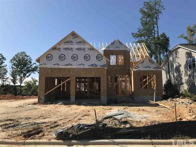 Knightdale Single Family Home Pending: 609 Noon Flyer Way #Lot 123