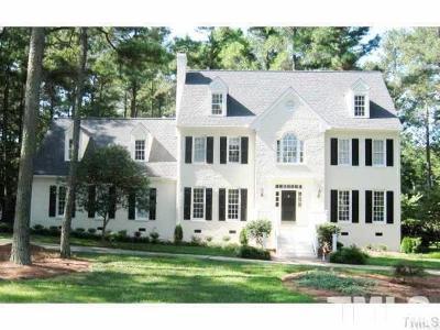 Raleigh Single Family Home For Sale: 605 Downpatrick Lane